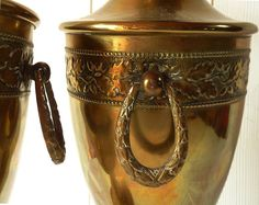 Antique Loving Pair of Large Cups Trophy  Antique by LaLoupiote, $240.00