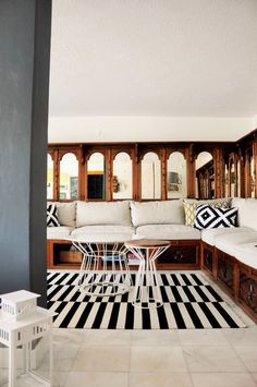 Begum's Sleek 70s Living Room in Istanbul — Favorite Rooms | Apartment Therapy