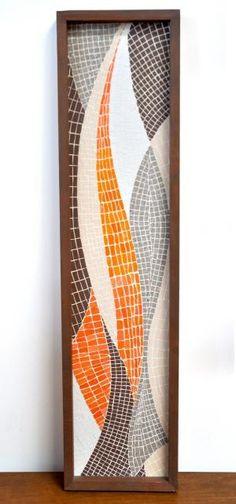 Mid-Century Modernist Design: Mid-Century Mosaic by michelle