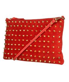 Love this studded @Topshop clutch!
