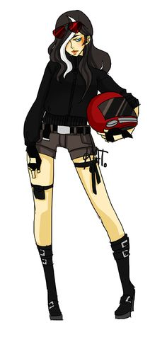 Girl version of Jason todd