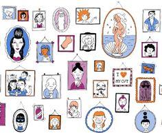 Ilustración Marta Altés Illustration, Gallery Wall, Children, Frame, Ideas, Home Decor, Illustrators, Young Children, Picture Frame