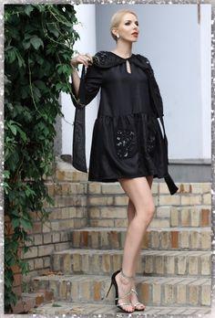 Fashion Black, Cold Shoulder Dress, Dresses, Vestidos, Dress, Gown, Outfits, Dressy Outfits
