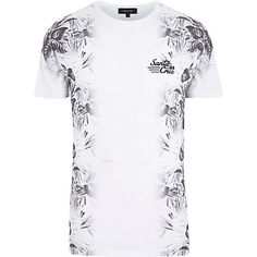 White Santa Cruz floral print t-shirt - print t-shirts - t-shirts / vests - men Fox Shirt, T Shirt Vest, Shirt Print, Shirt Men, Mens Holiday Clothes, Holiday Outfits, Latest Fashion Clothes, Fashion Outfits, Men's Outfits
