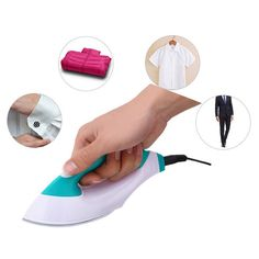 Cheap iron mini, Buy Quality electric iron directly from China iron design Suppliers: Handheld Electric Iron Mini Exquisite Design Household Portable Garment Electric Iron with Special Static Dust-proof Steam Irons Laundry Appliances, Home Appliances, Ferro A Vapor, Mini Iron, Digital Timer, How To Iron Clothes, Steam Iron, Home Improvement, Household