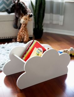 HOME DZINE Bedrooms | Cloud decor for a kiddies room