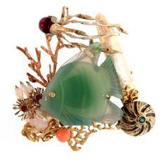 Tropical Fish & Coral Jewelry @cedarchestfl  @shoponsanibel | Sanibel, Florida #shoponsanibel #Sanibel #Florida #jewelry