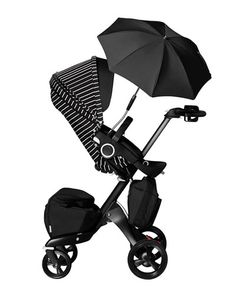 One of a Kind Limited Edition Stokke Xplory Stroller True Black with Stripe Accessory Bundle PreOrder Exclusively @NeimanMarcus #NYFW – VERY limited quantities!