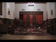 The Shining Elevator of Blood recreated with RealFlow 4 & Lightwave 9.6 - YouTube