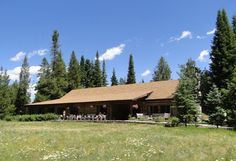 Jenny Lake Lodge, a wedding venue in Jackson Hole, Wyoming. #mountainwedding