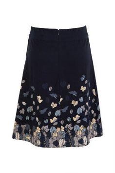 that bird label Adele A Line Skirt Falling Autumn - Womens Knee Length Skirts - Birdsnest Online Fashion