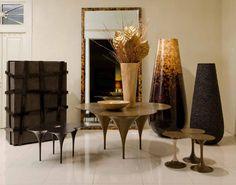 Roche bobois aqua dining table designed by fabrice berrux svel
