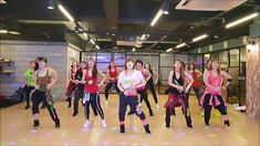 I LOVE ZUMBA, Naughty Girl - Beyonce (Salsa Remix), Choreo by Eunmi Jung