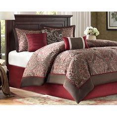 FREE SHIPPING! Shop Wayfair for Madison Park ECO Weave Talbot 7 Piece Comforter Set - Great Deals on all Bed & Bath products with the best selection to choose from!