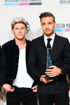2013 American Music Awards - Niall and Liam