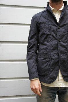 Engineered Garments Cotton/Linen Twill Bedford Jacket.