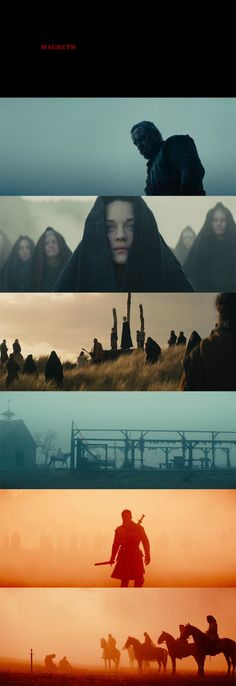 Macbeth (2015) Director : Justin Kurzel Cinematography: Adam Arkapaw