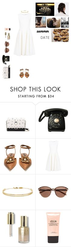 """""""summer date"""" by bartivana ❤ liked on Polyvore featuring Dolce&Gabbana, ADAM, Arme De L'Amour, Witchery, Stila and Betty Crocker"""