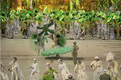 Desfile escola de samba Imperio Serrano, Rio.