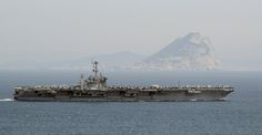 USS Harry S. Truman passes the Rock of Gibraltar. | Flickr - Photo Sharing!