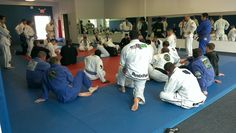Gustavo teaching the adult seminar at the Grand re-Opening!