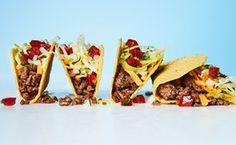 Spicy Ground Beef Tacos