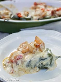 Shrimp and Cheese Stuffed Poblano Peppers - loulousucre