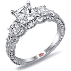 Unique Engagement Rings - DW6032  Demarco contest! Pin it to win it!