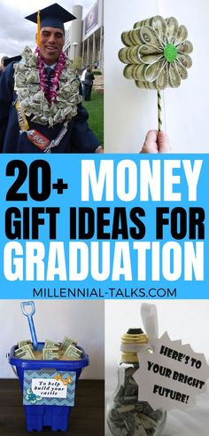 Fun Graduation Money Gift Ideas For Your Grad Hello everyone! Graduation is right around the corner, and you're looking for. Graduation Party Desserts, Graduation Gifts, Money Balloon, Origami Crown, Pack Of Gum, Money Lei, Fun Cup, Graduation Pictures, In Case Of Emergency