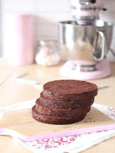 C'est LA recette incontournable du moment pour tous vos gâteaux en pâte à sucre !! Le Molly Cake est un biscuit terriblement moelleux et fondant, ici c'est une délicieuse version au chocolat, mais surtout une recette incroyablement facile rapide à réaliser !