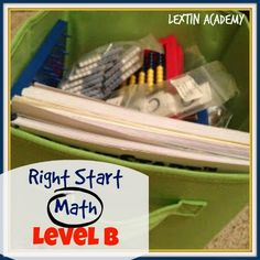 Lextin Academy of Classical Education: Right Start Level B
