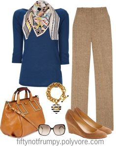Image result for polyvore fashion over 50 #FashionOver50 #FashionTipsforWomenOver50