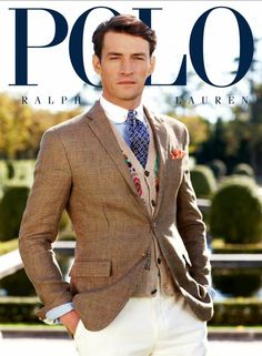 The Essentialist - What's Hot In Fashion Advertising: Polo Ralph Lauren Ad Campaign Spring/Summer 2013 Polo Ralph Lauren, Ralph Lauren Style, Gentleman Mode, Gentleman Style, English Gentleman, Mode Masculine, Ralph Luaren, Slim Fit Khakis, Ivy League Style