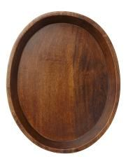WOODEN TRAY fat