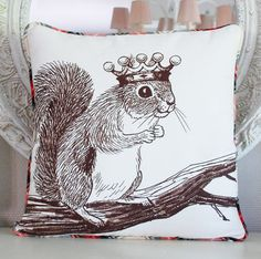Hey, I found this really awesome Etsy listing at https://www.etsy.com/listing/114018867/squirrel-pillow-cover