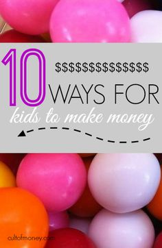 Is your child ready to earn his own money? If so check out these ten great ways for kids to make money.