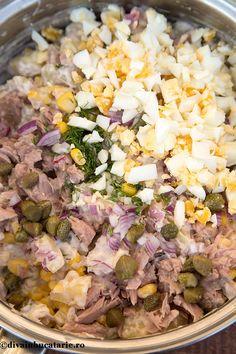 Vegetarian Breakfast Recipes, Healthy Eating Recipes, Meat Recipes, Salad Recipes, Cooking Recipes, Food Crush, Romanian Food, Mediterranean Recipes, Sushi