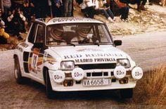 ra Carlos Sainz-Antonio Boto-32º Rally RACE-Costa Blanca 1984. Renault 5 Turbo. Clasificado 5º.