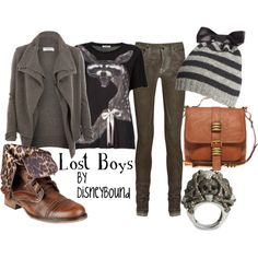 The Lost Boys from Peter Pan