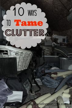 10 tips that will bust clutter.