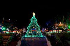 Encendido de navidad en Chacao, Plaza la Francia de Altamira 2012. Caracas.
