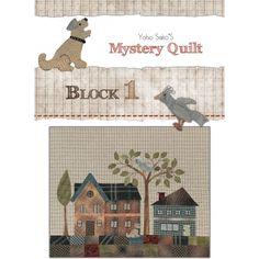 Quilt Mystère 2012 Yoko Saito - Quiltmania