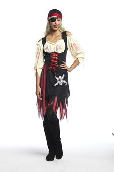 Adult Pirate Costume / Déguisement de pirate pour adultes