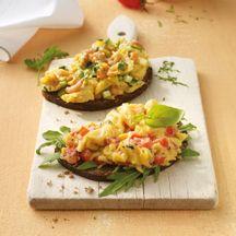 Weight Watchers - Mediterraans roerei met tomaat - 5pt