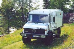 Dust Devil Unimog Overland Camper