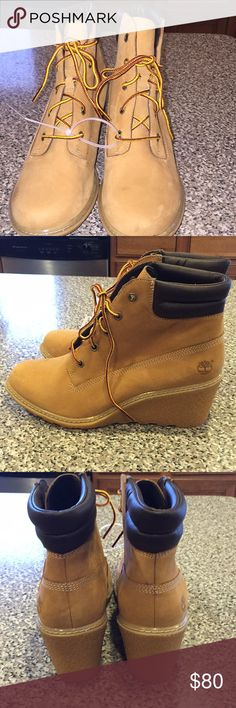 Timberland boot Timberland boot with minor marks Timberland Shoes Ankle Boots & Booties