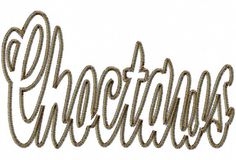 Choctaws  Zig Zag Outline  Applique  Machine by LilliPadGifts