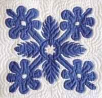 Example of a Hawaiian Quilt