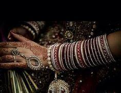 The bangles so traditional n pretty