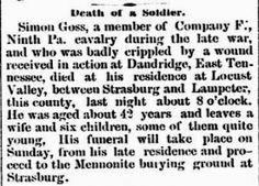 Genealogical Gems: On This Day: Civil War soldier reported dead